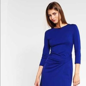 Escada bluebell dress
